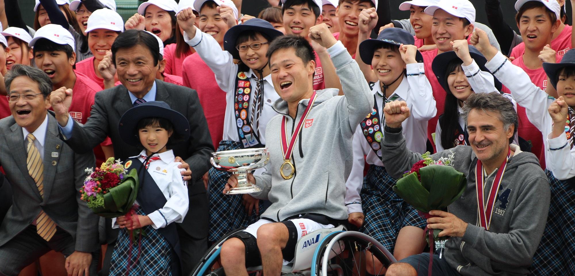 車いすテニススーパーシリーズ 「JAPAN OPEN」